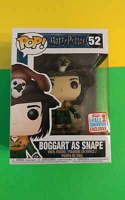 Funko Pop Harry Potter Boggart As Snape 2017 Nycc Fall Convention Exclusive Vhtf
