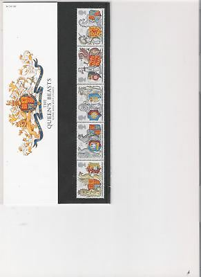 1998 Royal Mail Presentation Pack The Queens Beasts