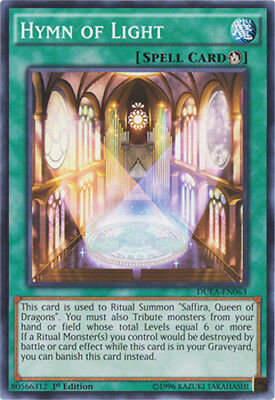 Yugioh! Hymn of Light - DUEA-EN063 - Common - 1st Edition Near Mint, English