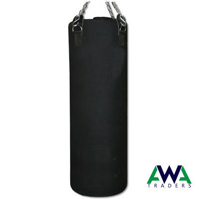 Unfilled Boxing Punch Bag MMA Martial Arts Heavy Duty KickBoxing 3Ft