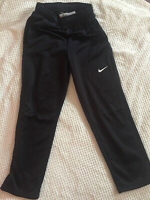 NIKE Youth BOYS THERMA FIT Jogging Pants NEW Size Large Black