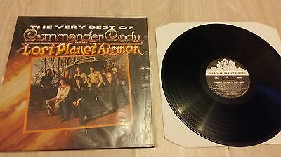 Commander Cody and his Lost Planet Airmen Rare vinyl See for Miles Records 1986