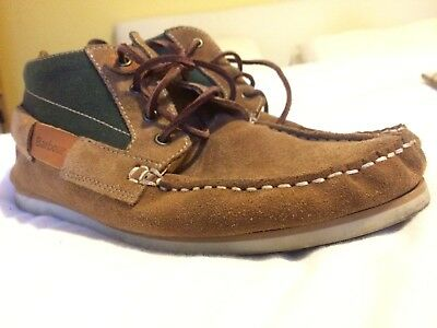 Barbour Suede Shoes Boots UK 8
