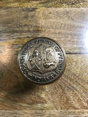 Grand Lodge of Knights of Pythias Door Knob Yale & Towne 1907 Indianapolis