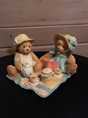 Cherished Teddies, Freda And Tina #911747 Our Friendship Is A Perfect Blend