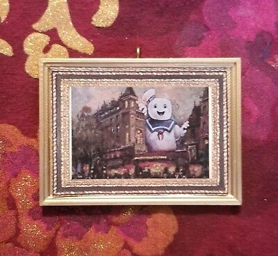 Stay Puft Marshmallow Man Portrait Christmas Tree Ornament for Ghostbusters Fans