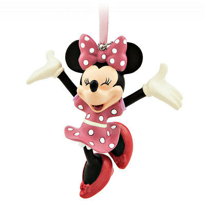 Licensed Disney MINNIE MOUSE 2017 CHRISTMAS SKETCHBOOK ORNAMENT Decoration NEW!