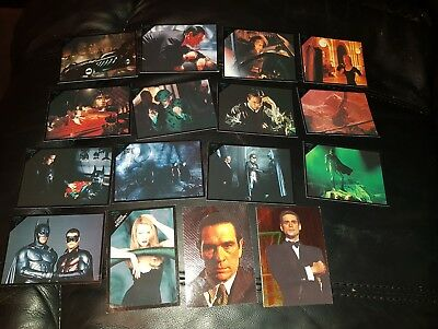 Batman Forever Trading Cards Dc 1995 14 Normal Cards 2 Special Cards
