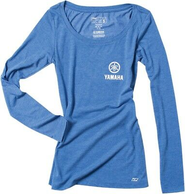 Factory Effex Yamaha Fork Women/'s Blue T-Shirt Tee Adult Licensed YZ YZF R1 WR