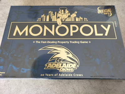 Monopoly board game Crows 20 Years of Adelaide Crows Monopoly 2010