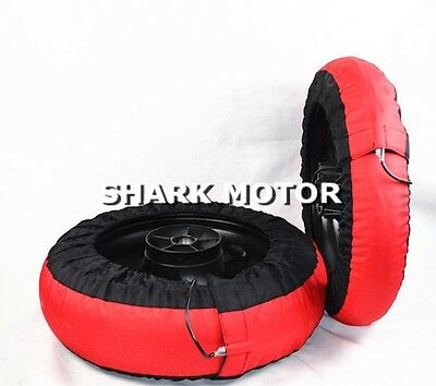 Motorcycle Tire Warmer  tyre warmer Set 120 / 200 Front and Rear Race