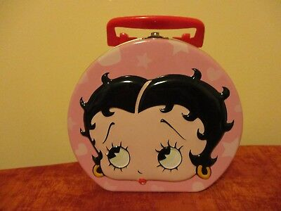 Betty Boop Tin With Latch And Handle 2000