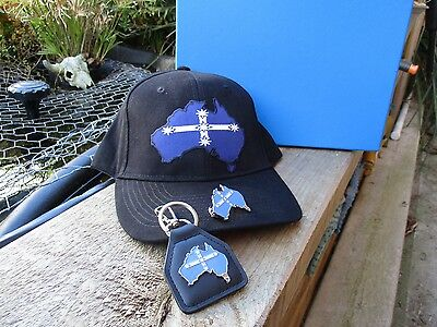 Eureka Australian Southern Cross Box Gift set - Hat, Keyring & Pin Badge