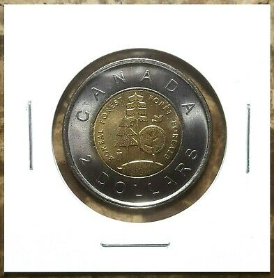 Canada 2011 Parks Boreal Forest Toonie UNC BU From Mint Roll!!