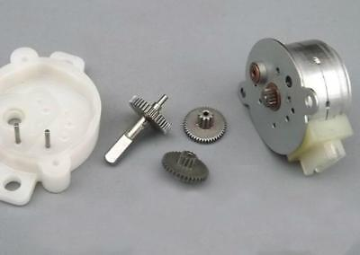 20mm 12V Step Stepping Stepper Motor with Metal Gearbox & Reduction Ratio: 36:1