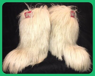 OH SNOW BUNNY WINTER IS COMING!! Vintage Aifos Goat Hair Boots Size 38
