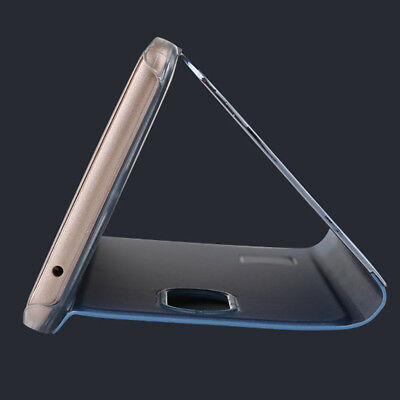 Touch Mirror Smart Flip Holder Stand Case Cover For Huawei Mate 10 Pro P10 Lite