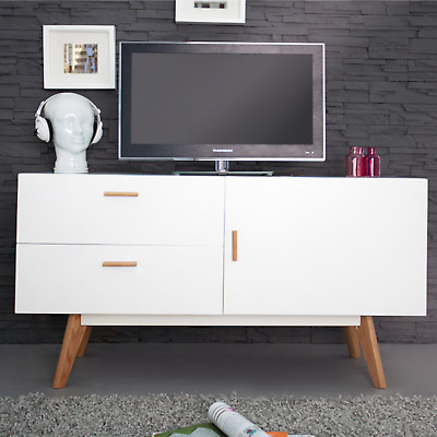 stylisches echt eiche sideboard hygge 150cm skandinavisches design anrichte eur 339 95. Black Bedroom Furniture Sets. Home Design Ideas