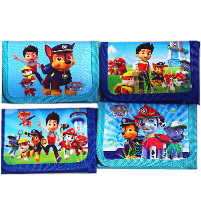 Paw Patrol Wallet Boys Children Kids Cartoon Character Wallet Coin Purse Toy