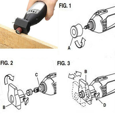 Universal Drill Locator Positioner Carving Polishing Grindering Rotary Tools