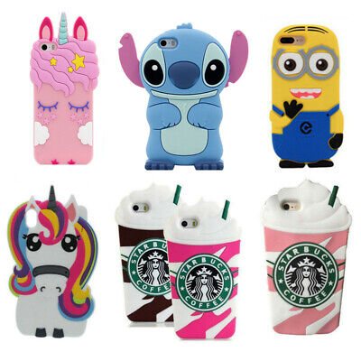 3D Cartoon Starbucks Silicone Rubber Soft Case Cover For Phone Samsung J3 5 2017
