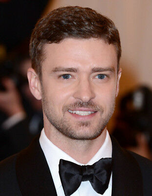 Justin Timberlake UNSIGNED photo - K8050 - HANDSOME!!!!!