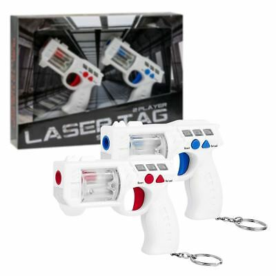 New Laser Tag 2 Player Lazer Quest Shooting Game Blaster Official