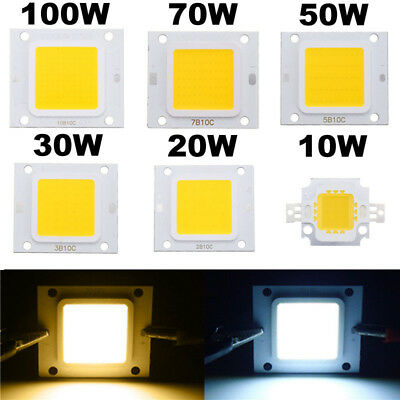 10W20W30W50W70W100W 1-5pcs LED Chip High SMD Flut Power  Perlen Licht für Birne