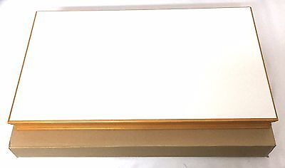 NOBLE Jewelry Display Platform Wood & faux leather