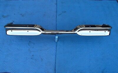 1958 Edsel Rear Bumper Triple Chrome Show Quality