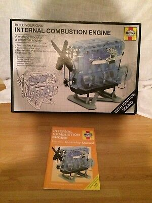 Haynes Internal Combustion Engine (Build your own) . FREE UK POSTAGE .