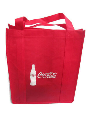 Coca-Cola  rPET 100% Recycled Material Red Shopper Bag- BRAND NEW