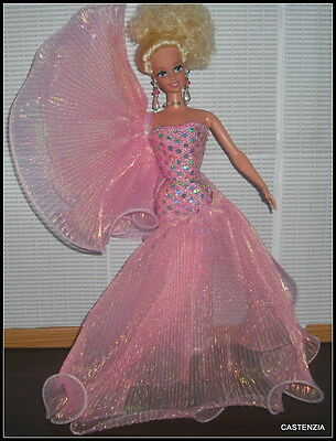 Outfit Only Barbie Doll Classique Evening Extravaganza Pink Gown Shoes Clothing