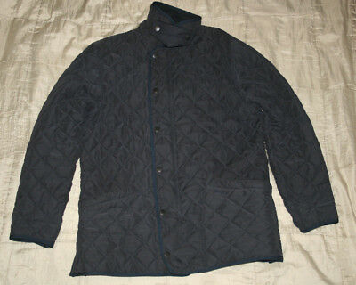 BARBOUR MENS track   fleece JACKET  size M