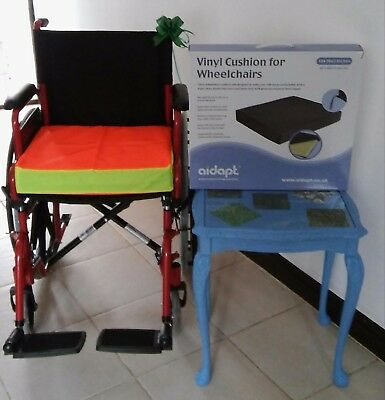 Hi viz Cushion & Cover for Wheelchair (MOBILITY STYLE AND FASHION) SALE