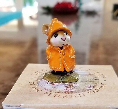Wee Forest Folk M-180  April Showers  CONCORD SPECIAL 1996 Orange Mint