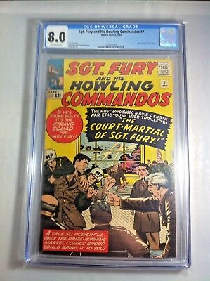 SGT Fury and his Howling Commandos # 7  1964