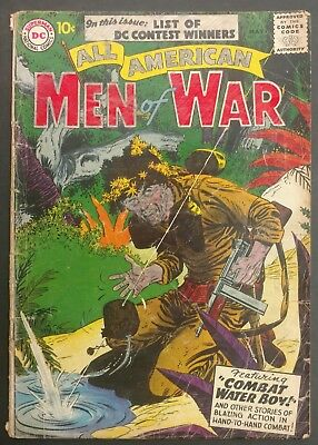 All-American Men Of War #45 1957 Gd--  Comp.,heath ,andru,novick 4 Stories!