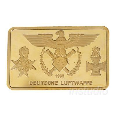 DEUTSCHE LUFTWAFFE Bomber Commemorative Coin Collection Craft Gift New#