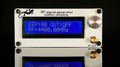 140MHZ-4400MHZ RF signal generator, signal source with case