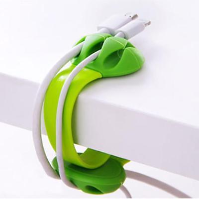 Desktop Clips Wire Cable Cord Management Organizer Data Line Cable Holder