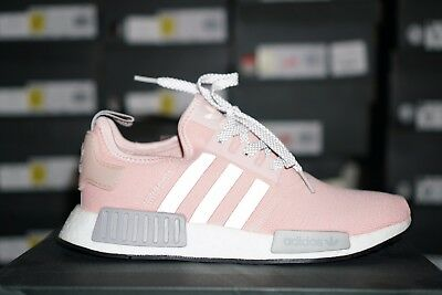 16d4fce5c17 ADIDAS NMD R1 BY3059 Womens RARE Vapor Pink Grey Onyx Boost limited ...