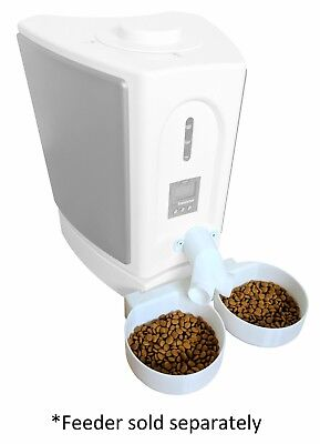 Two-Way Splitter & Two Bowl Attachment -- for Pet Feedster PF-10 PLUS Cat Feeder