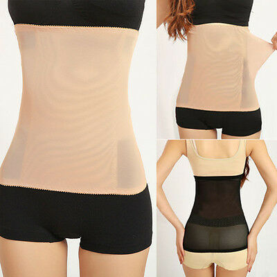 Women Body Shaper Tummy Trimmer Waist Stomach Control Girdle Slimming Belt