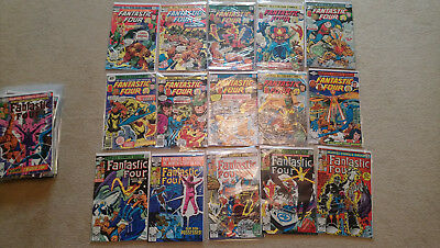 Marvel Fantastic Four collection, including issues between 160 - 261, 32 issues.