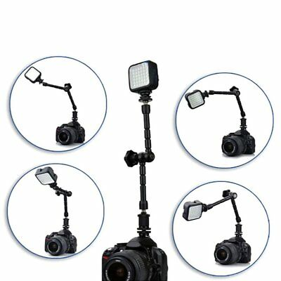 11 inch Adjustable Friction Articulating Magic Arm + Clamp For DSLR Monitor MU