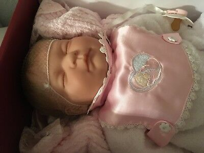 RARE Berenguer Special Edition Sleeping Baby Sucky Lip Bundles of Joy New in Box