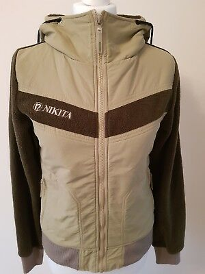 Nikita Womens/Girls Green Zipped Hoody/Jacket - UK 8/10 (S)-Excellent Condition