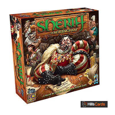 Sheriff Of Nottingham: An Exciting Game Of Bluffing and Smuggling: Board / Card