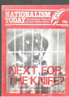 NF BNP - 1980s NATIONALISM TODAY # 30  - John Tyndall - Not Mosley BUF UM